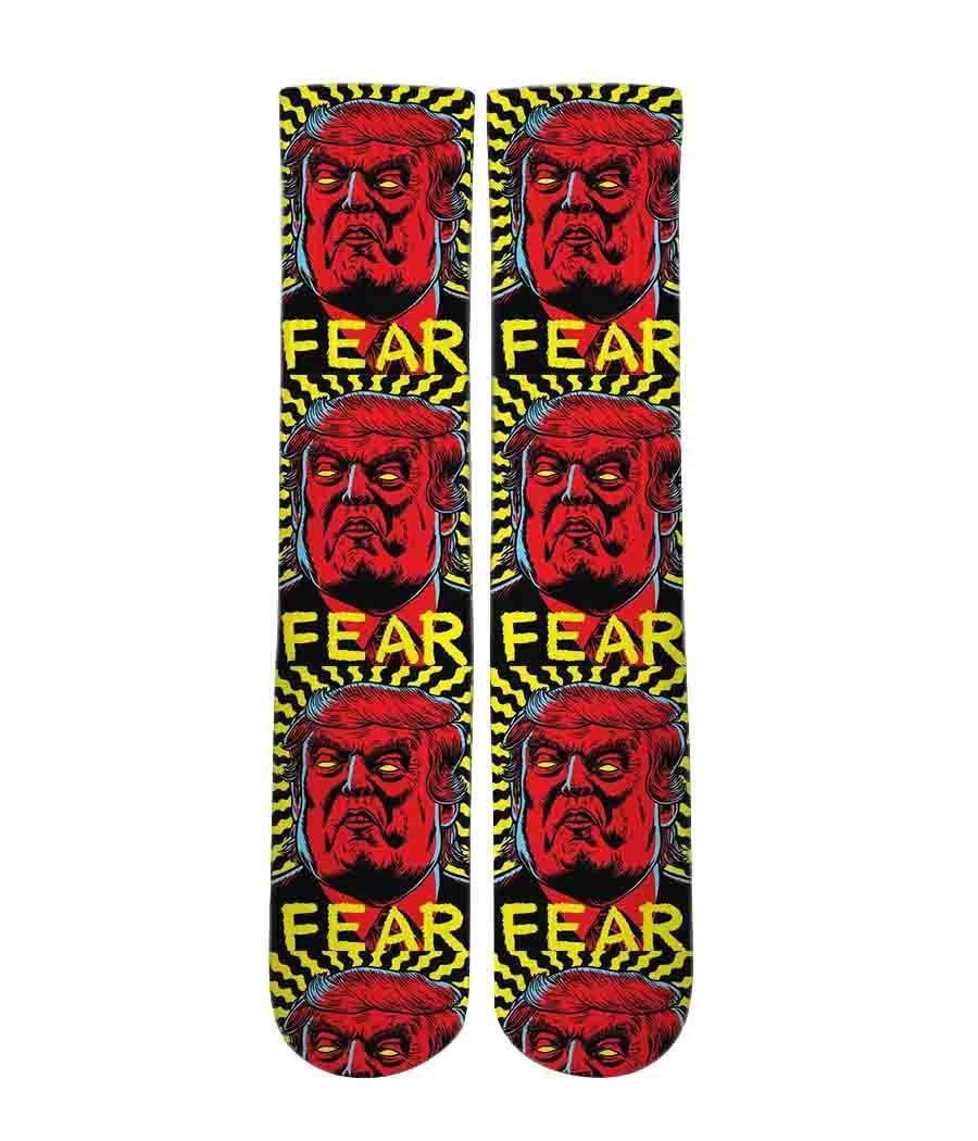 Fear Trump Graphic socks - Dope Sox Official