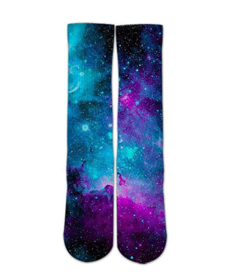 Galaxy Space sock design - 3d printed socks - Dope Sox Official