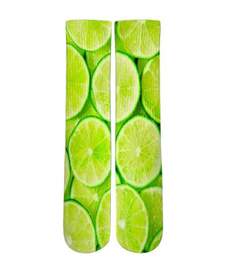 Citrus Lime elite graphic socks - Dope Sox Official