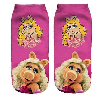 Miss Piggy ankle socks - Dope Sox Official