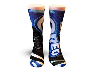 Oreo Cookies Elite printed crew socks - Dope Sox Official