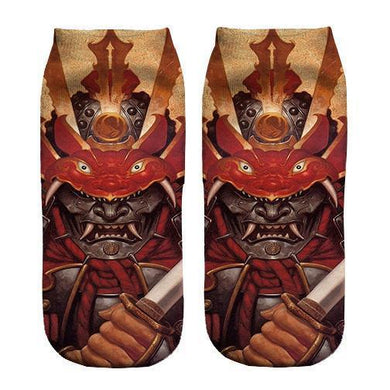 Samurai  Ankle socks - Dope Sox Official