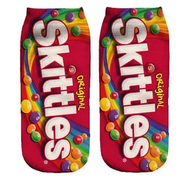 Skittles ankle socks - Dope Sox Official