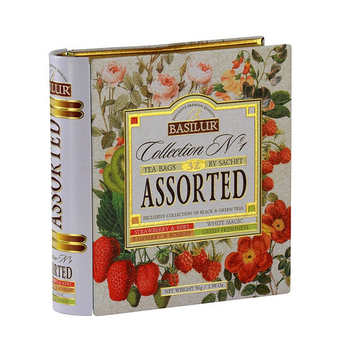 Basilur Tea Book - Collection No.1 Assorted