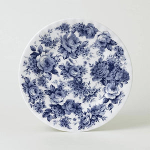 Blue Chintz  Fine Bone China 20cm Plate