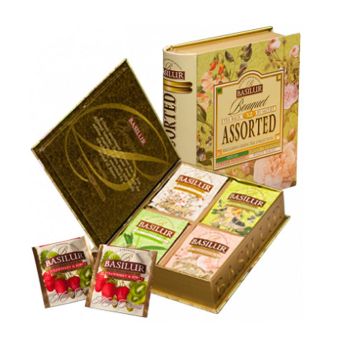 Bouquet Assorted Tea Book - Tea Bags