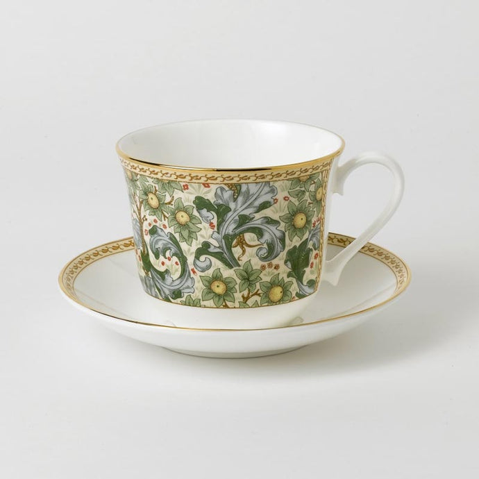 Classic Collection – Orchard Fruits Large Breakfast Cup and Saucer