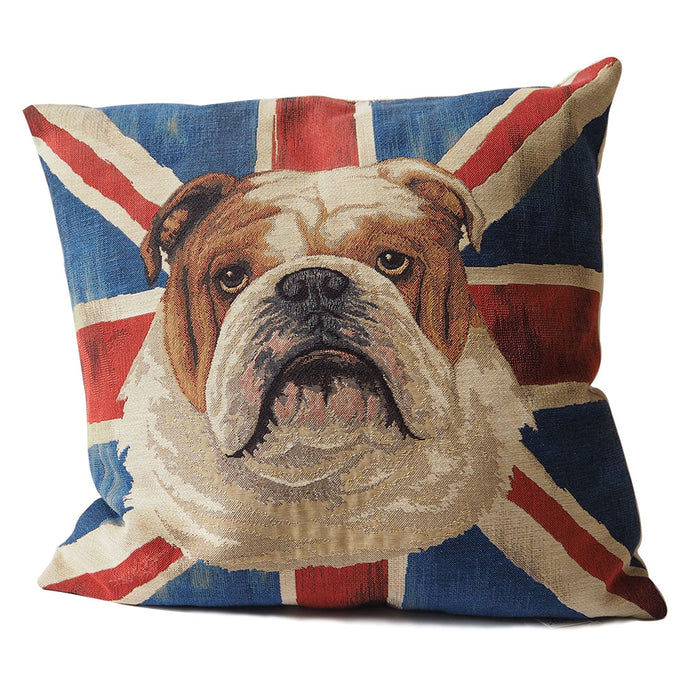 English Bulldog Pillow