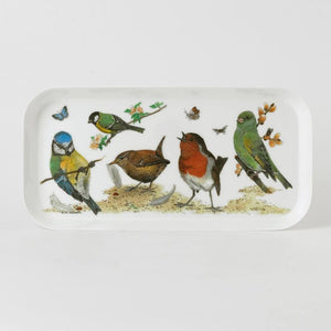 Garden Birds Small Snack Tray