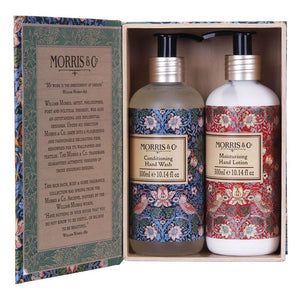 Morris & Co Strawberry Thief hand wash & lotions duo