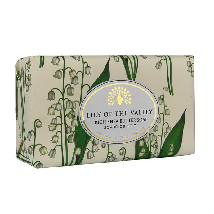 Lily of the Valley Vintage Wrapped Soap.