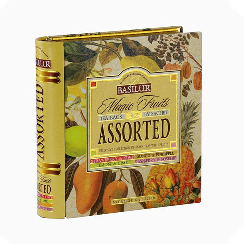 Magic Fruits Assorted Tea Book - Tea Bags