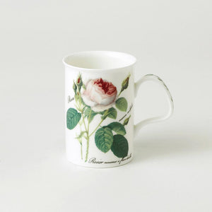 Redouté Rose Fine Bone China Mug