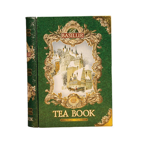 Tea Book Volume III - Metal Tea Caddy