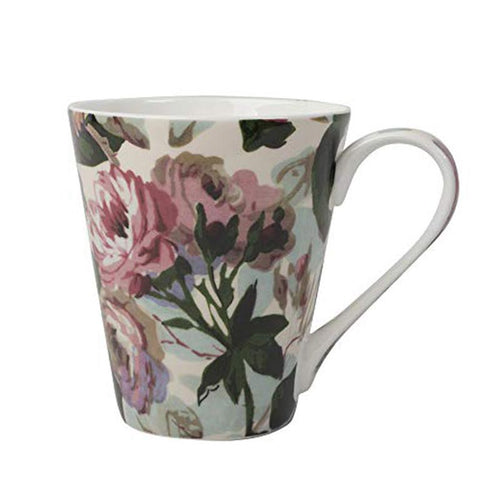 V&A Berners Rose Fine Bone China Mug in Gift Box