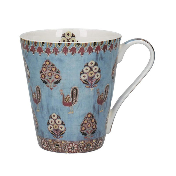 V&A Gujarat Fine Bone China Mug in a Gift Box