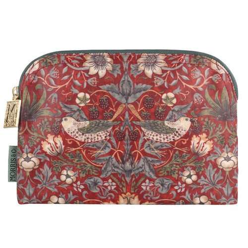 Morris & Co makeup etui strawberry thief