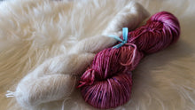 Load image into Gallery viewer, Sugar Plum Fairy & Mohair Hat Set