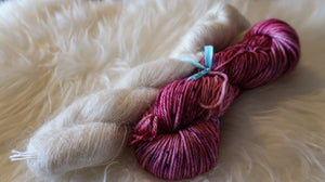 Sugar Plum Fairy & Mohair Hat Set