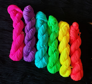 Rainbow Kit for Painting Bricks Shawl