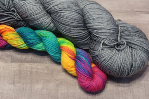 Rain Clouds and Rainbows Sock sets