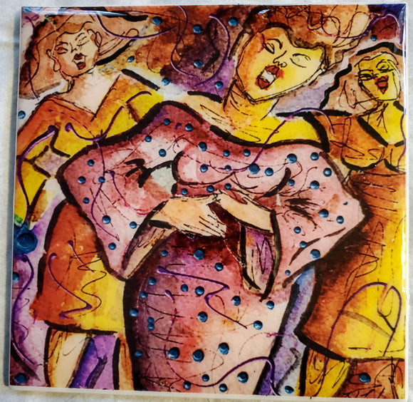 DIVA SOUL II COLOR STUDY - Ceramic Tile Print