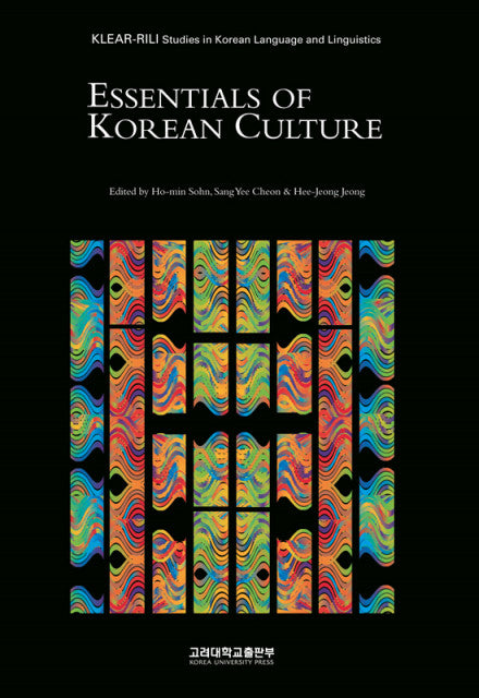 Essentials Of Korean Culture - booksonkorea.com