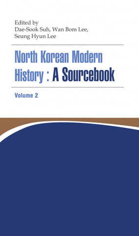 North Korean Modern History: A Sourcebook Volume II - booksonkorea.com