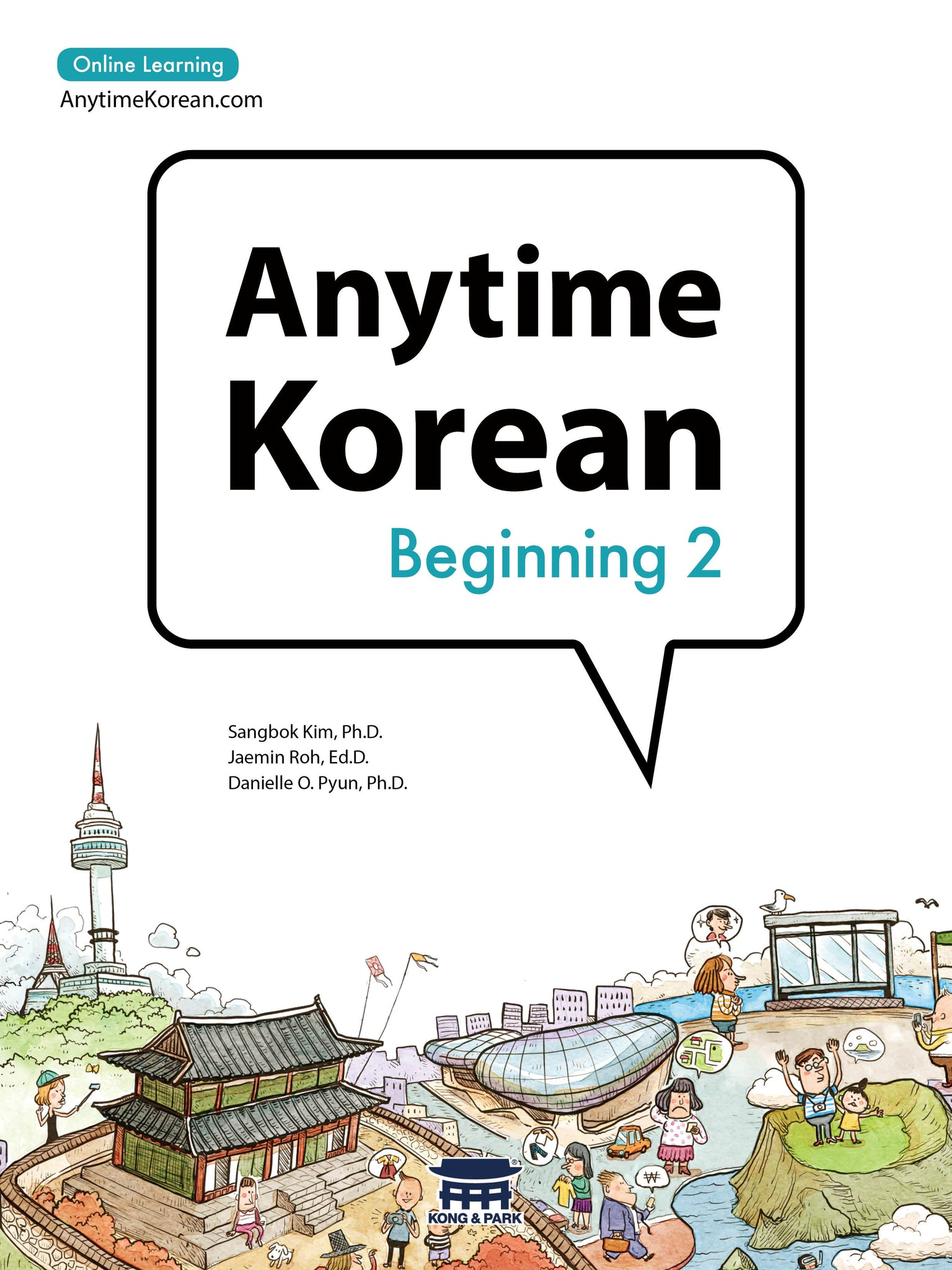 Anytime Korean Beginning 2 - booksonkorea.com