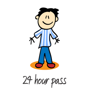 1 Adult - 24 Hour Day Pass