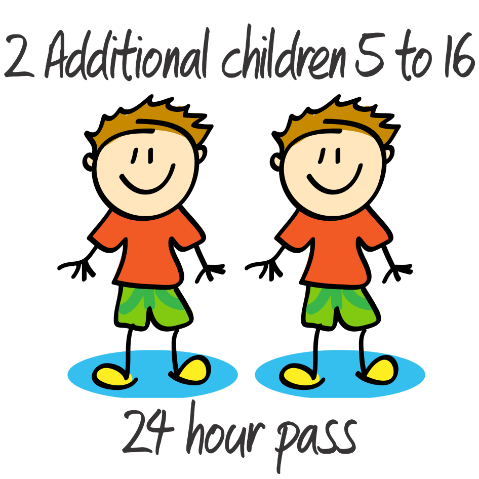 2 Additional Children - 5 to 16 years - 24 Hrs