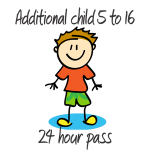 1 Additional Child - 5 to 16 years - 24 Hrs