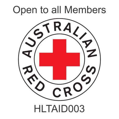 Provide First Aid - 2 Day Course  HLTAID003 with ARB Kit (Watson ACT)
