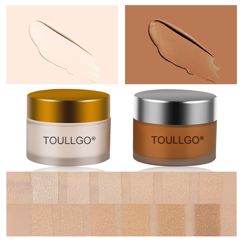 ToullGo-Tattoo Concealer, Pro Concealer Waterproof, TWO-COLOR