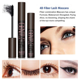ToullGo-4D Silk Fiber Lash Mascara, For Thickening,Lengthening Your Lashes, Waterproof, Smudge Proof