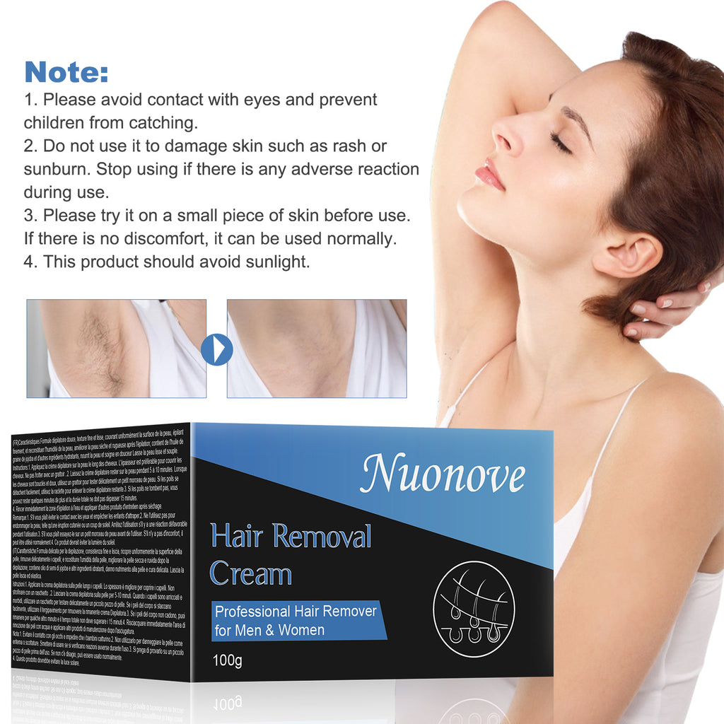 Toullgo Hair Removal Cream Painless Removal Cream Soothing