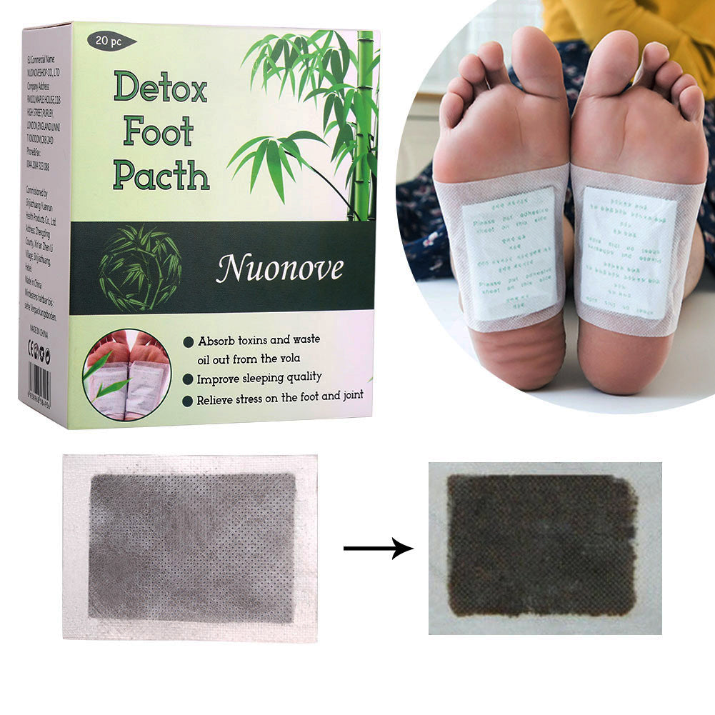 ToullGo-Detox Foot Patches,High-Quality and easy Plaster of Health Detox Patches Pulls the Toxins Spa