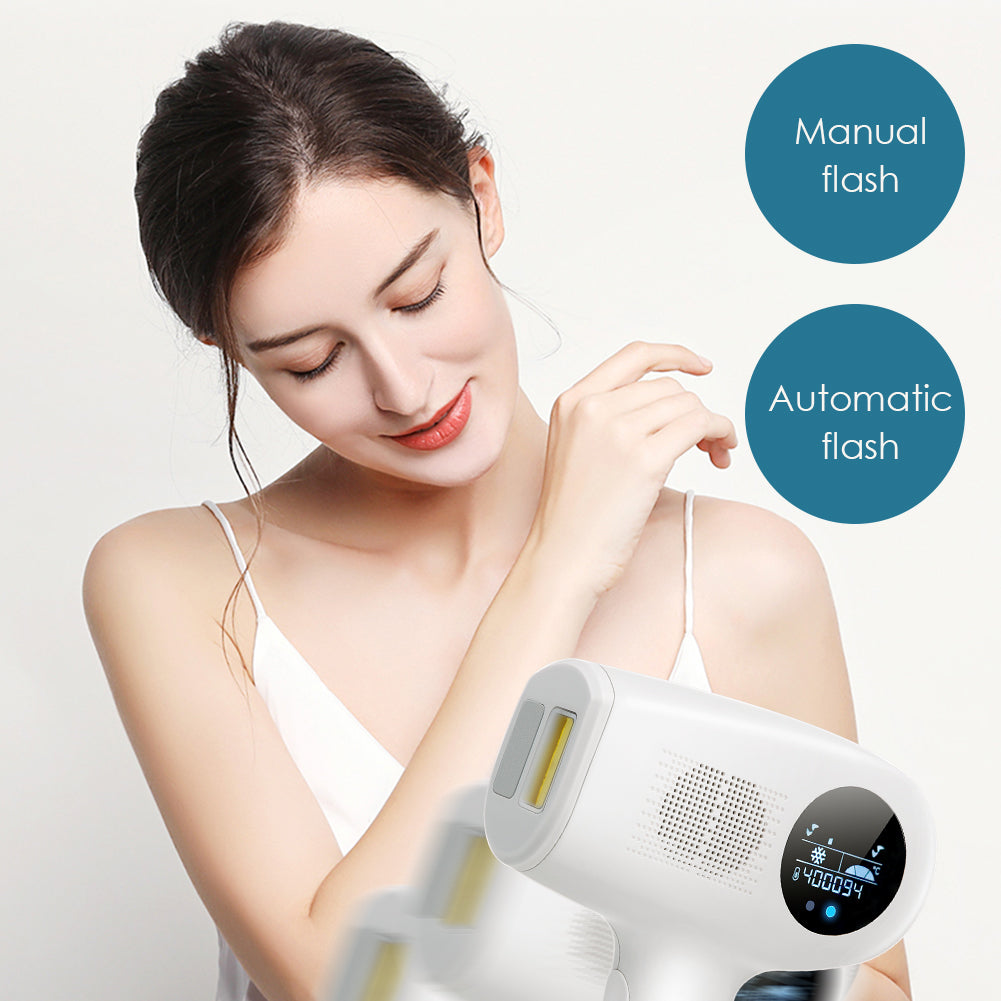 ToullGo-IPL Hair Removal, Cooling Care&LCD Display