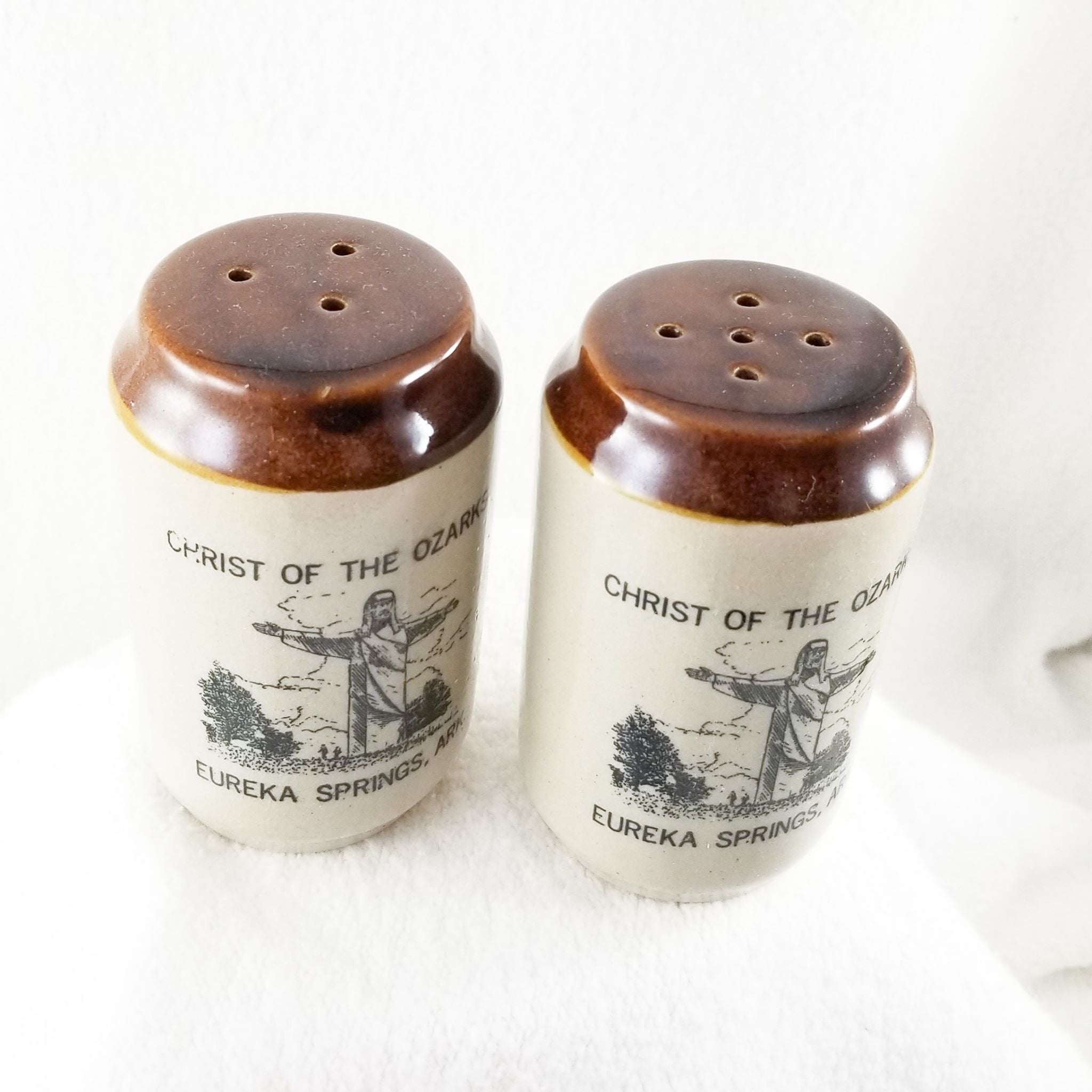 Christ of the Ozarks Large Salt and Pepper Shaker Set