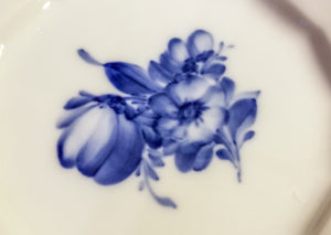 "Blue Flowers by Royal Copenhagen 6.25"" Bread and Butter Plate Hand Painted Danish Porcelain"