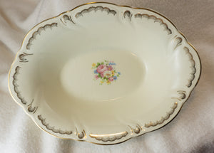 Vintage Taylor Smith & Taylor Ts and T TST361 Oval Vegetable Bowl