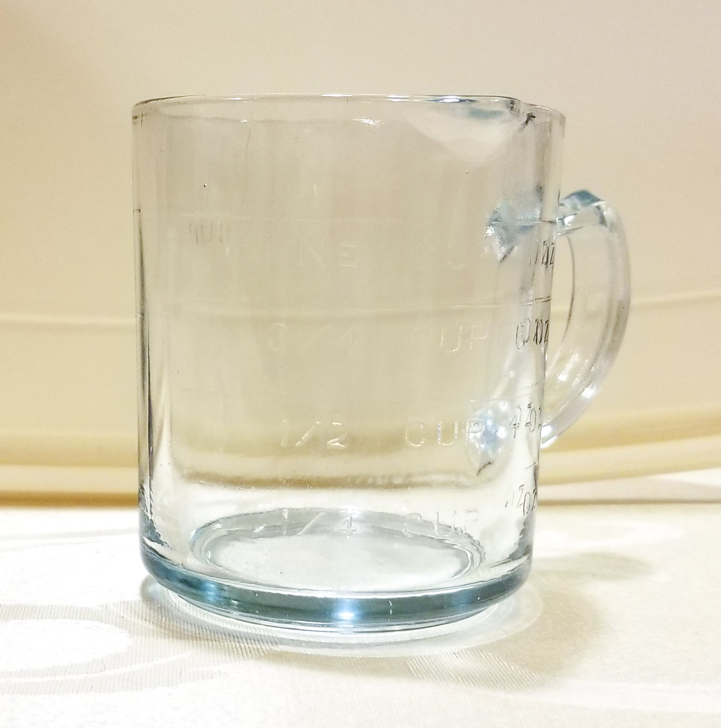 Blue Fire King Depression Glass Measuring Cup