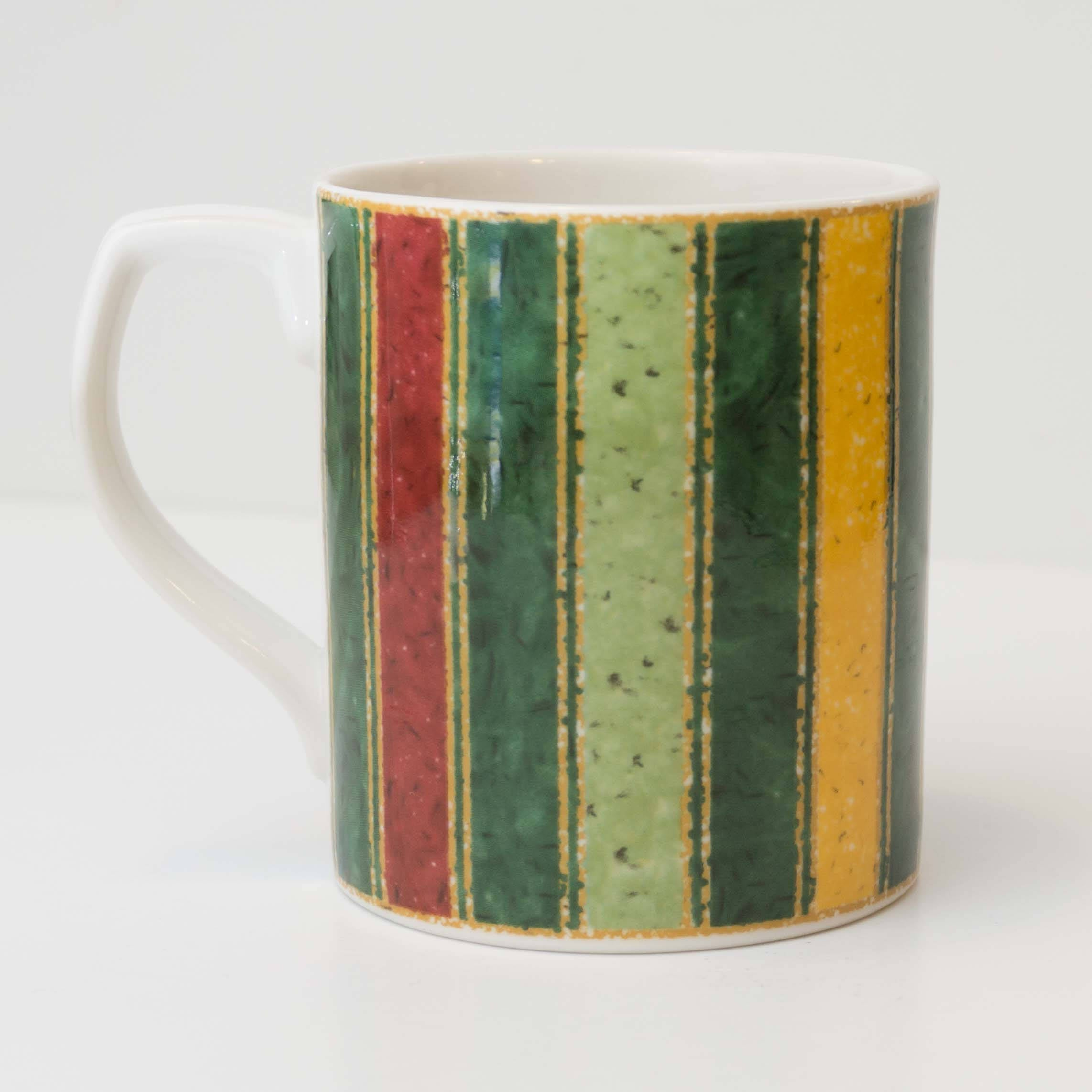 Discontinued Southwestern Style Japora by ROYAL DOULTON Striped Coffee Mug Cup