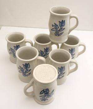 Lot of EIGHT Mugs marked 7-288 in Yorktowne (USA) by Pfaltzgraff