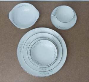 1966 Mid Century Tilford by Noritake Place Settings for Seven with Extra Pieces