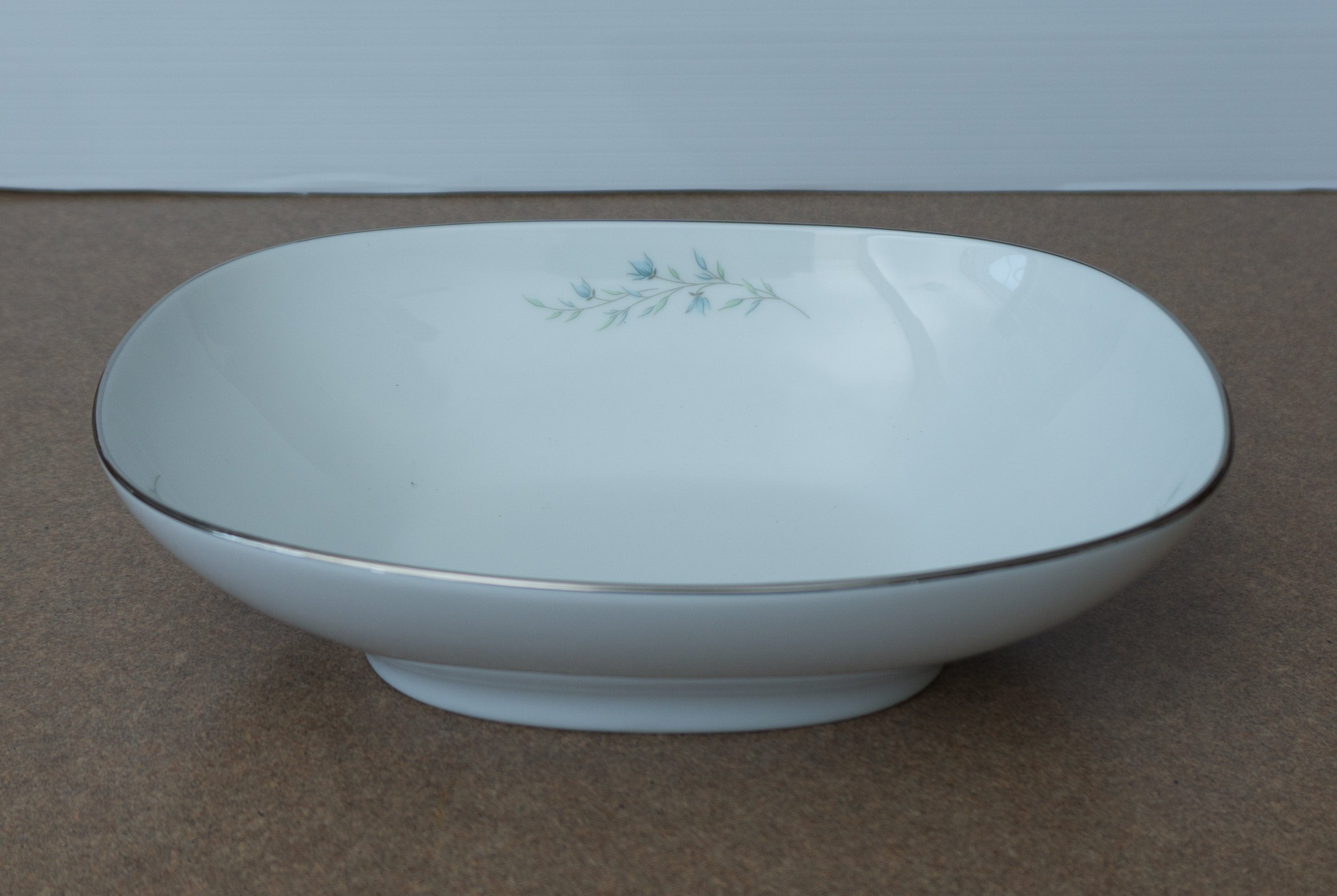 "1966 Mid Century 9"" Oval Vegetable Bowl Tilford by NORITAKE"