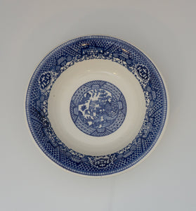Vintage Coupe Cereal Bowl Blue Willow by ROYAL (USA)