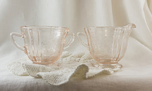 Recollection Pink by INDIANA GLASS Cream and Open Sugar