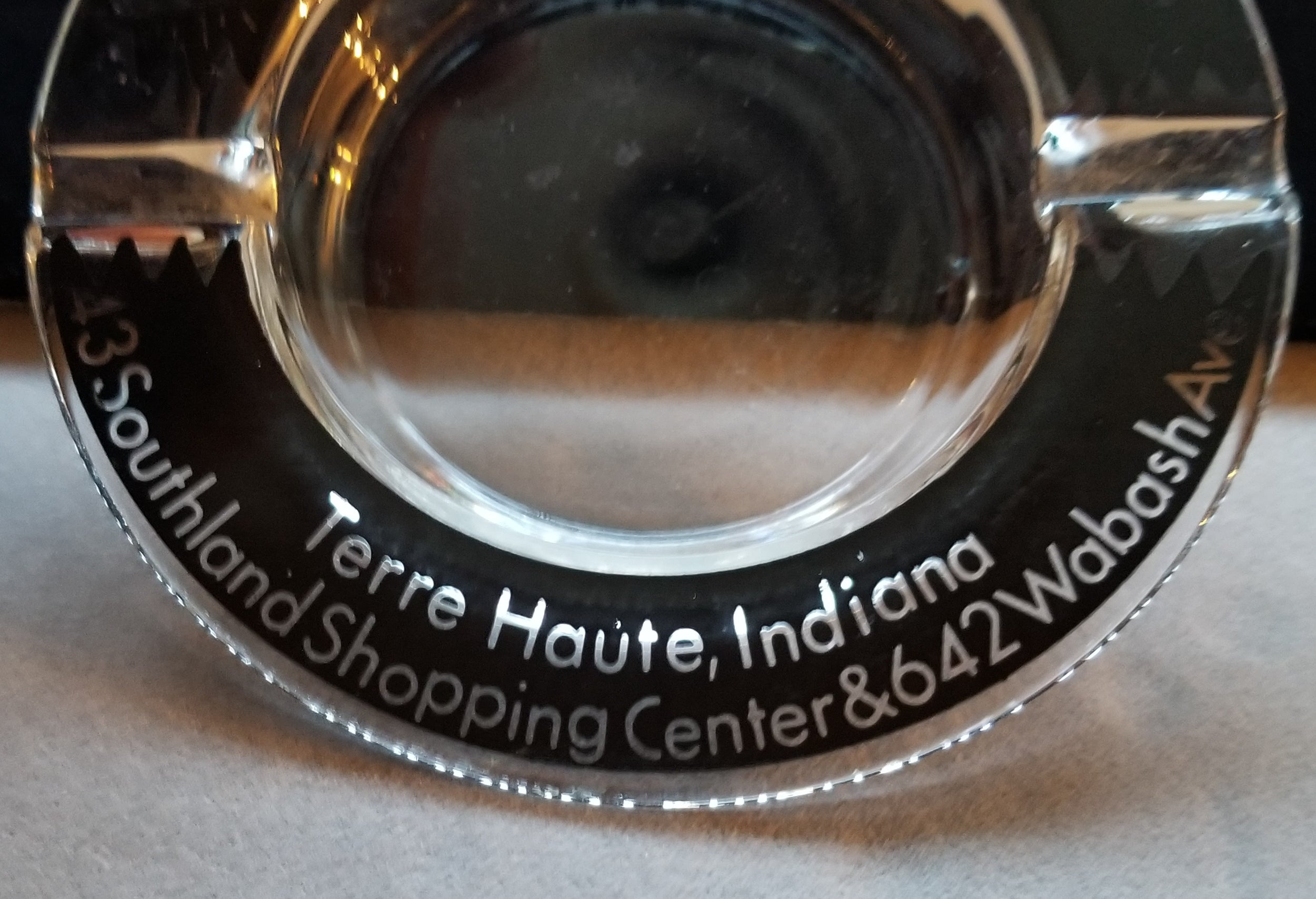 Wiandt's Jewelers Terre Haute Indiana Promotional Ashtray Vintage