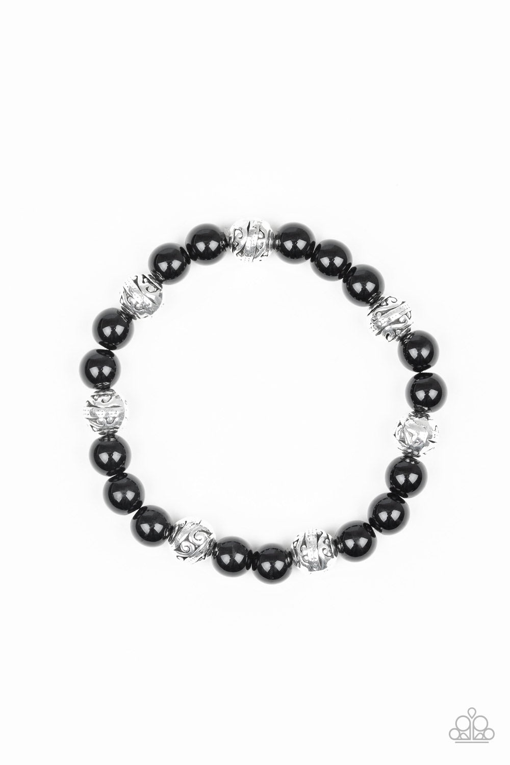 Paparazzi Poised For Perfection Bracelet - Black